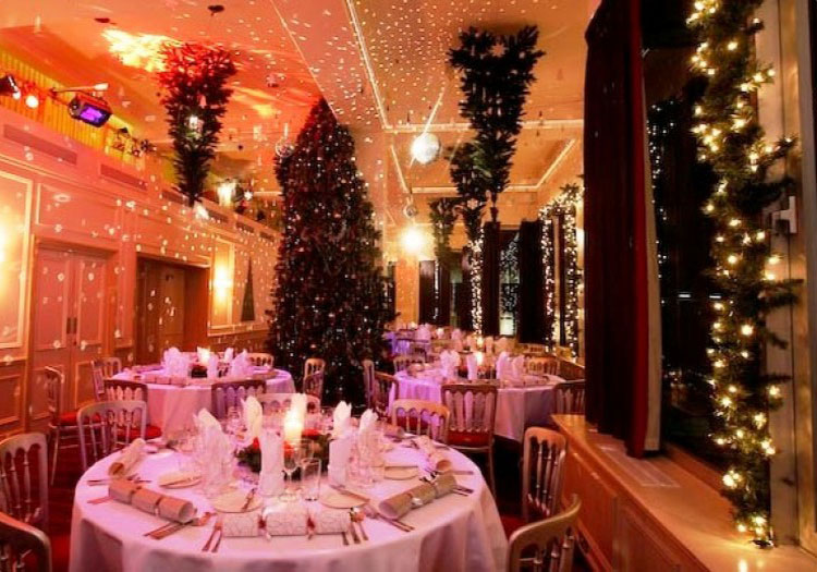 Christmas Party At The River Rooms London Ec4