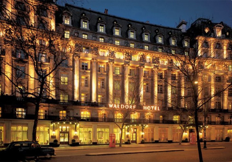 Waldorf Hilton, London...
