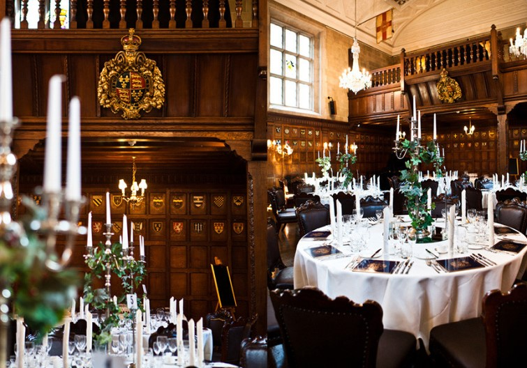 Christmas Party at Ironmongers' Hall, London EC2Y