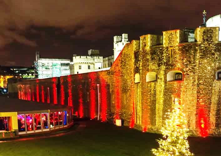 Christmas Party at The Pavilion Tower of London EC3