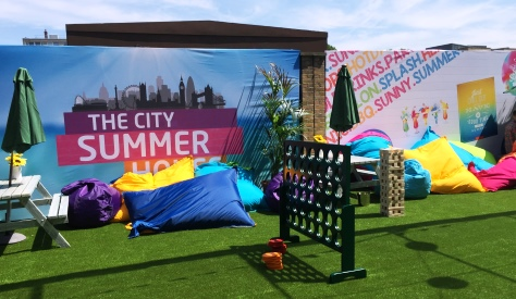 Summer Party at City Summer House, London E1