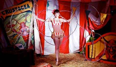 Vintage Circus Christmas Party