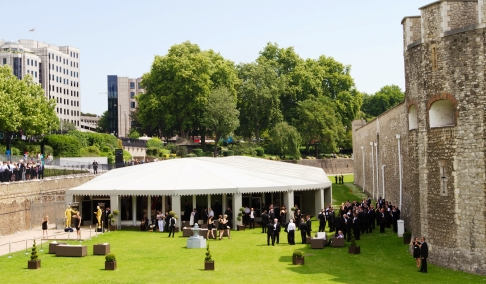 Summer Party at The Pavilion at The Tower, London EC3N