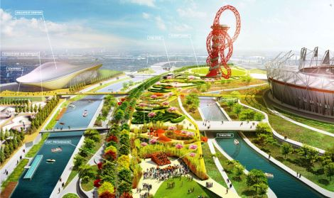 Queen Elizabeth Olympic Park, London E20