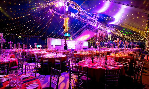 Shared Christmas Party at Bloomsbury Big Top, London WC1