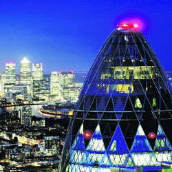The Gherkin, London EC3A